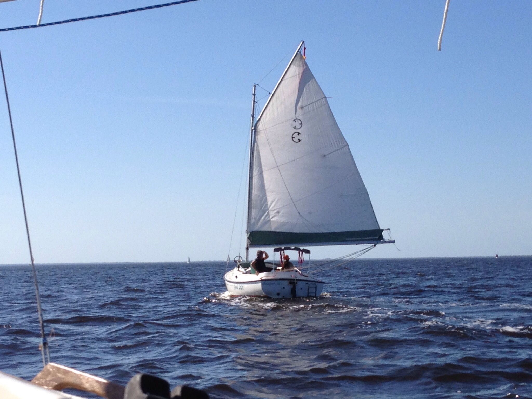 Are all cat boats heavy on the helm? - Cruising Anarchy - Sailing