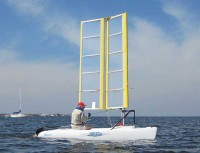 Wingsail Powered Bravo