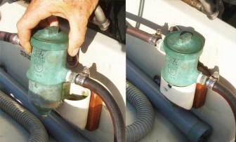 Perko Bronze Fuel Filter