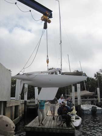 2.4 Meter Hoisted