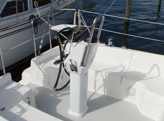 Catalina 309's roomy cockpit