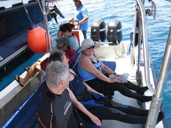 Aboard Whale Tender
