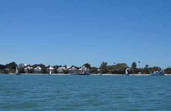 Approaching Useppa Island