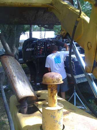 Backhoe Engine