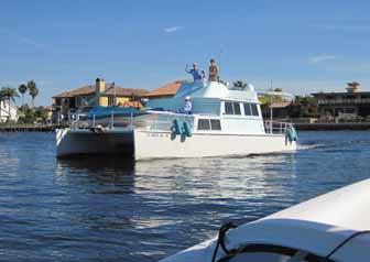 Power Catamaran Cruiser
