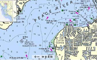 NOAA Charlotte Harbor chart