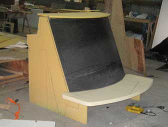 Console with Bench