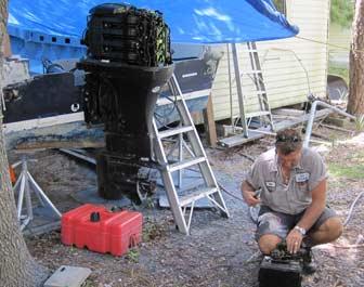 Dean Checks Engine