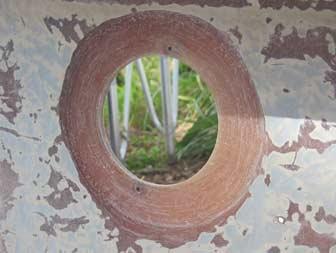Feathered Hole