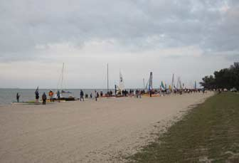 2011 EC Fleet On Beach