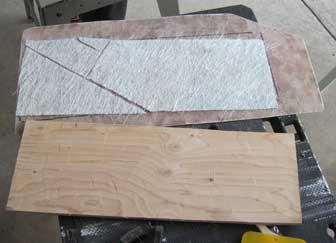 Fluke Hawse Deck Patch