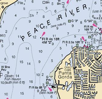 Charlotte Harbor Chart