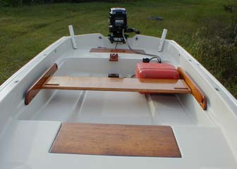 Photo of my Boston Whaler that I used as a dinghy