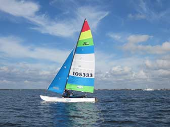 Hobie 16 Rainbow Sail