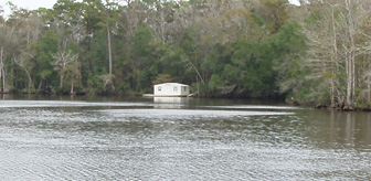 Barge houseboat