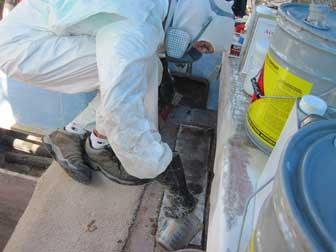 Ladderbox Deck Repair