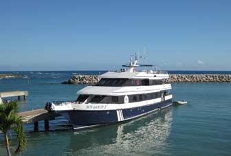 Leaving Boat