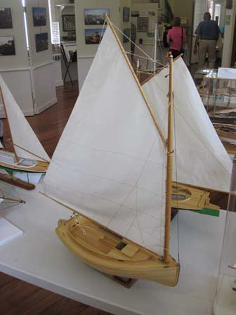FL Maritime Museum Model Catboat