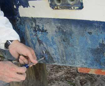 Old Transducer Screw