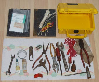 The contents of my marine toolbox