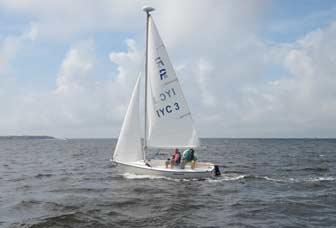 Precision 15 Sailing