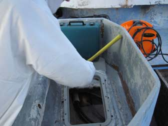 Pulling Deck Hatch