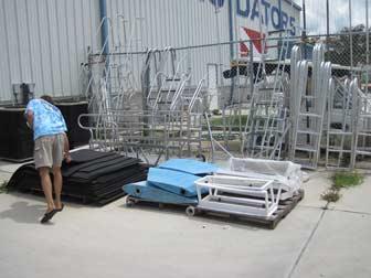 Rubber Mats Rudders Ladders