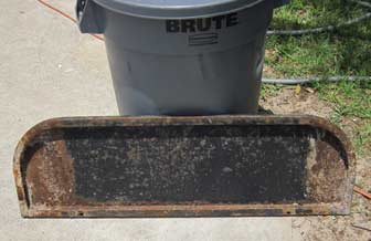 Rusty Footrest