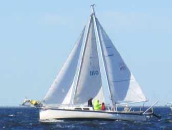 Seaward 24 A mast schooner conversion
