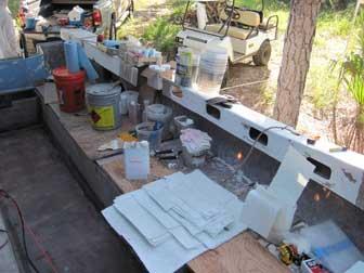 Setup To Fiberglass