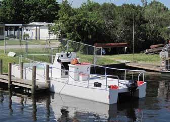 Stern At Nav A Gator Dock