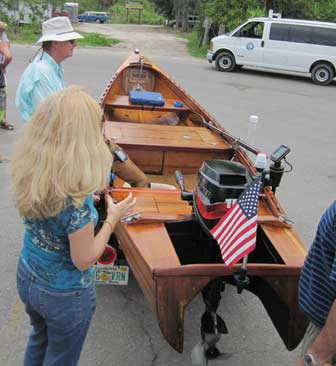 Strip Built Skiff