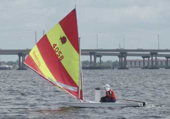 Sunfish Downwind