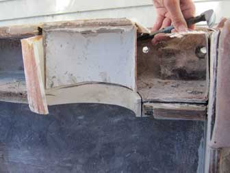 SCUBA Tank Rack Removal
