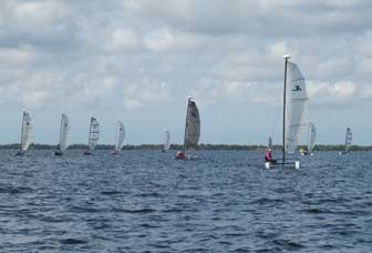 Ten Hobie Waves