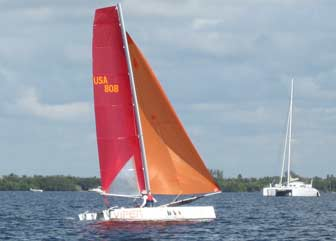 Viper Racing Cat and Etincelle Cruising Catamaran