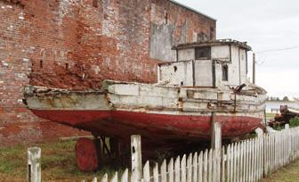 Apalachicola is a waterfront junkyard