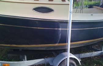 Waxing hull