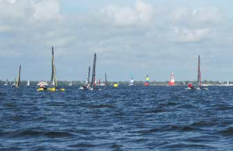 Weta Trimaran Fleet