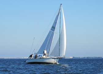 31 foot custom sailboat