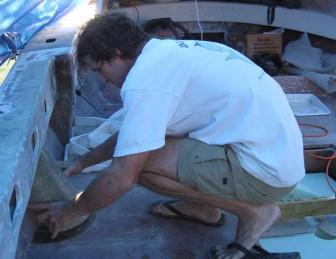 Gene Fitting Fiberglass Shroud
