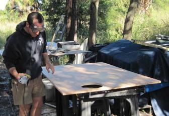 Grinding Deck Panels