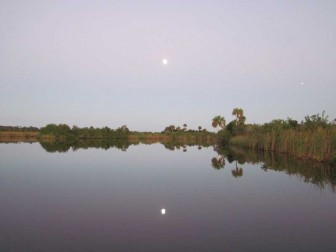 Moonrise Over Shell Creek