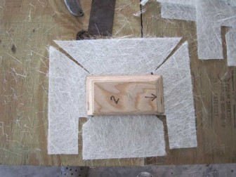Cleat and Mat with Relief Cuts