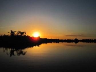 Sunset December 6, 2011