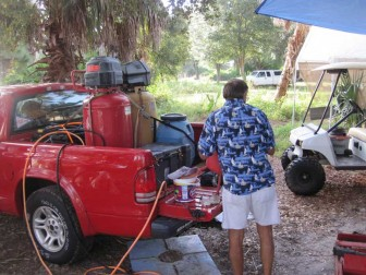Dual Compressor Rig in Pickup