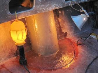 Fiberglass Shroud Laminated