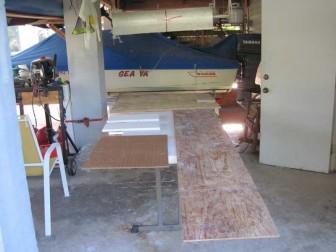 Third Fiberglass Mat Roll