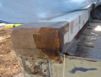 Pec Port Transom Repair