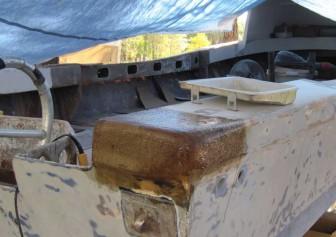 Pec Starboard Corner Repair